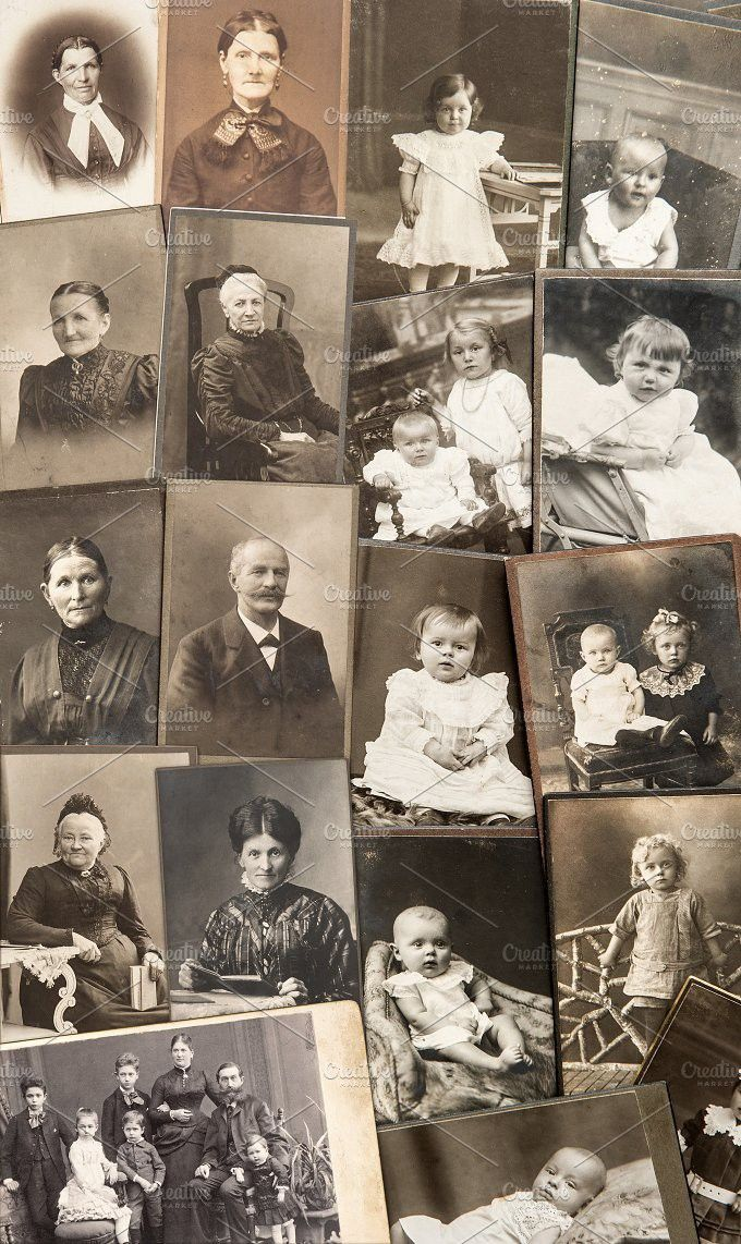 Old family photos. People Photos