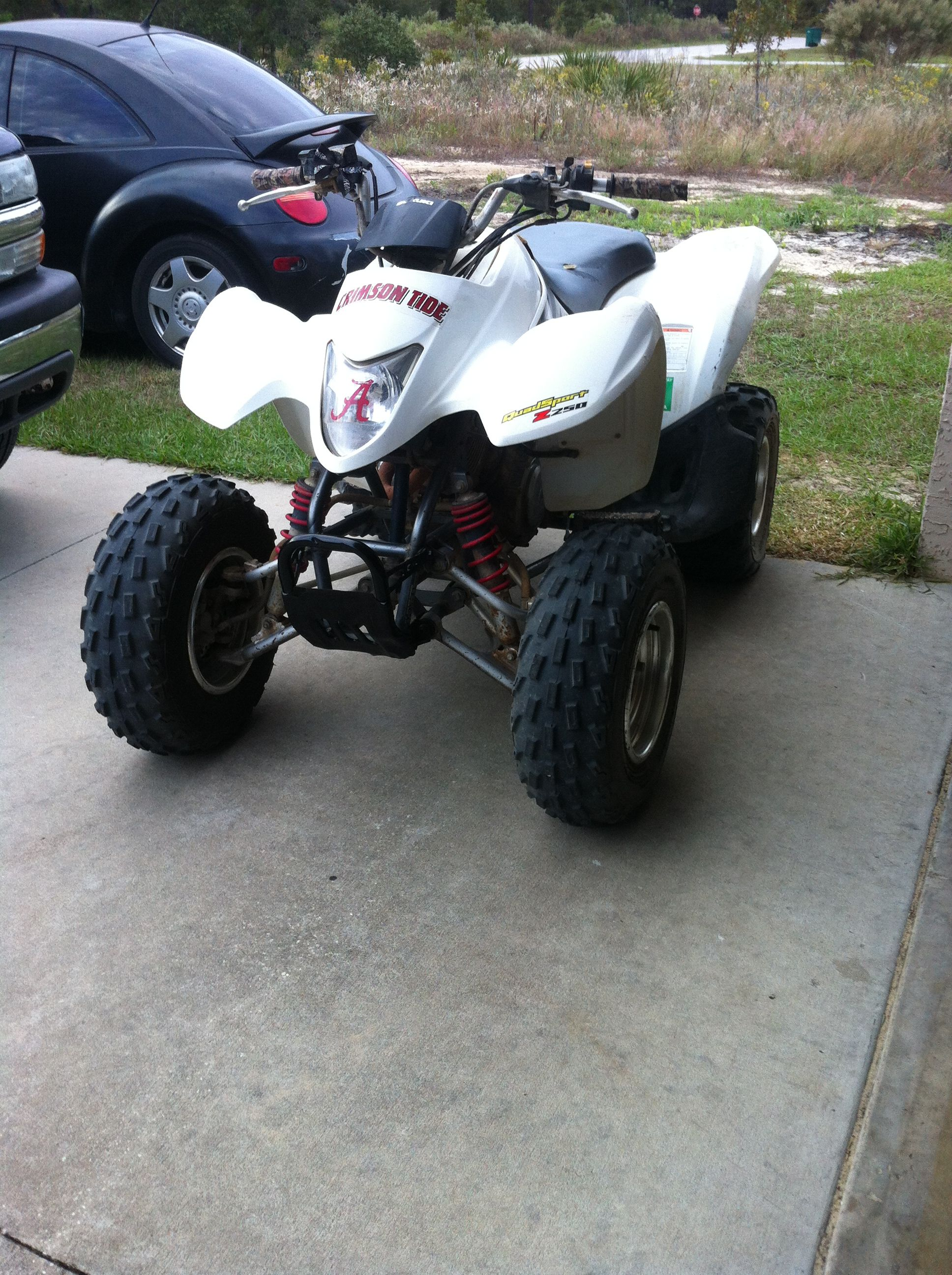 Suzuki 250 Four Wheeler