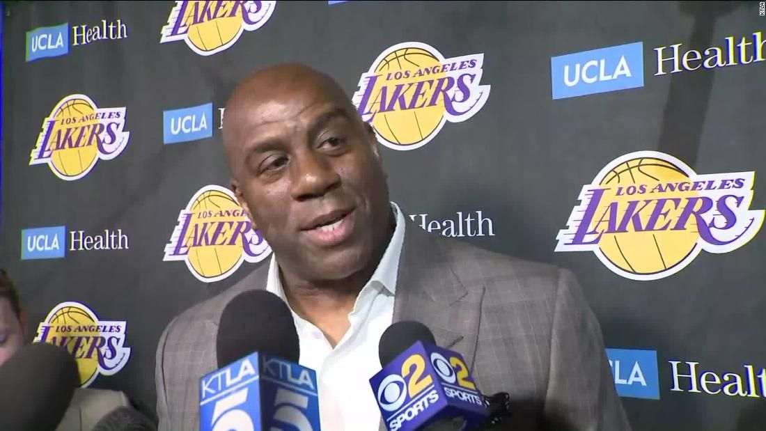 Magic Johnson leaves Lakers front office job Magic