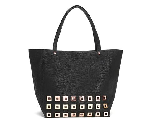 Deux Lux Marquee Tote in black