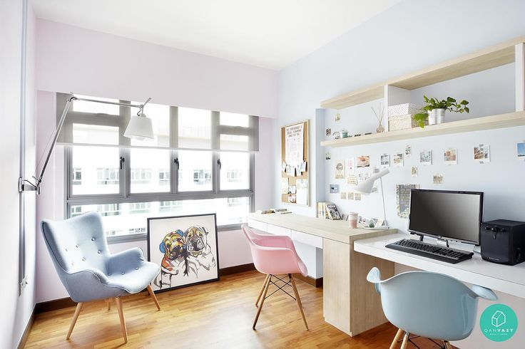 Should I Study Interior Design pink theme scandinavian study room - google search | study room