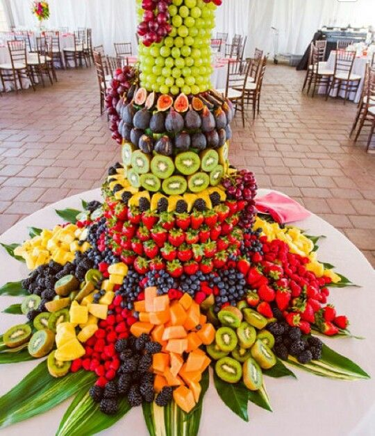 Wedding Reception Food Display: Perfect For Cocktail Hour In 2019