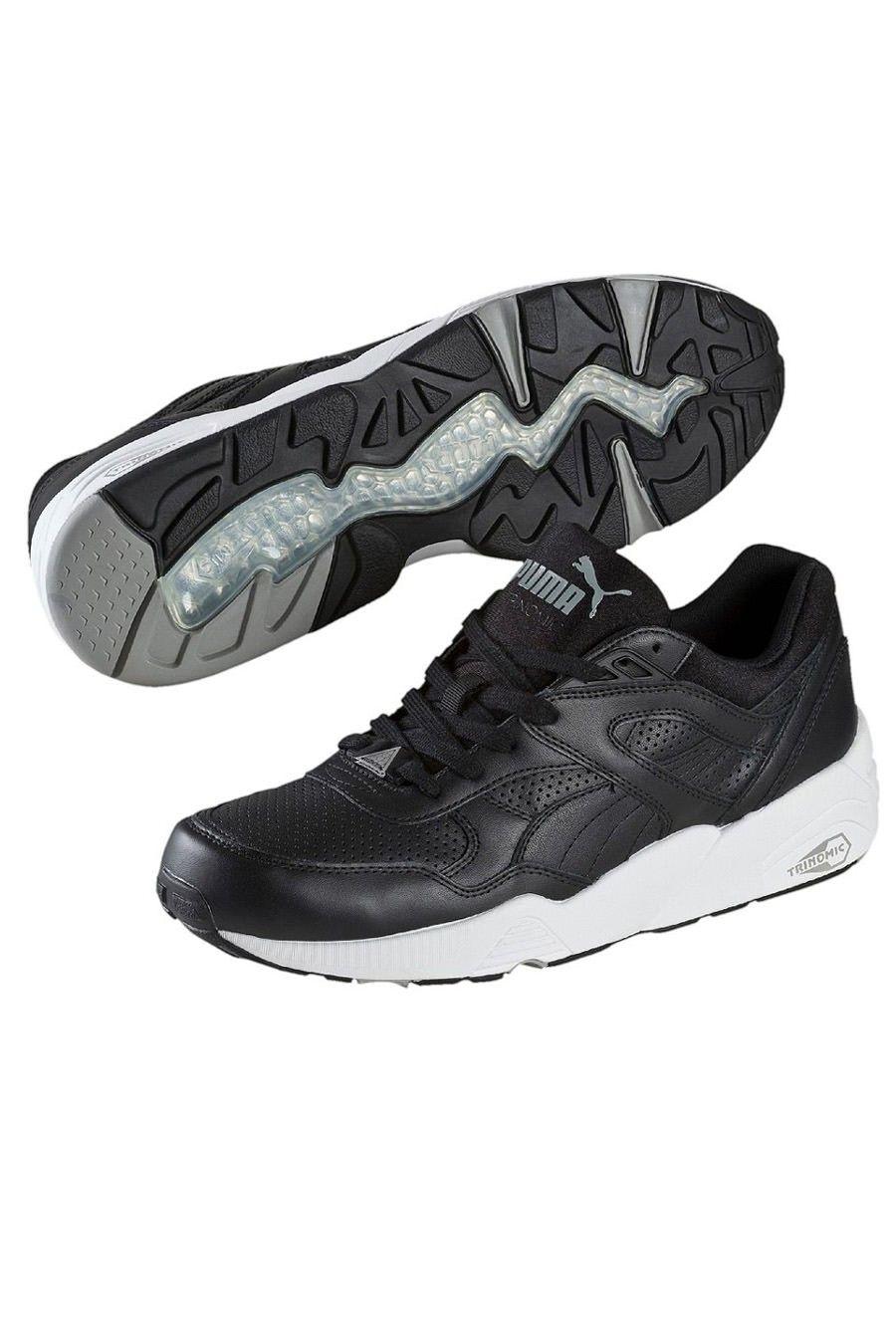 Scarpa Puma Trinomic R698 Core Leather Black