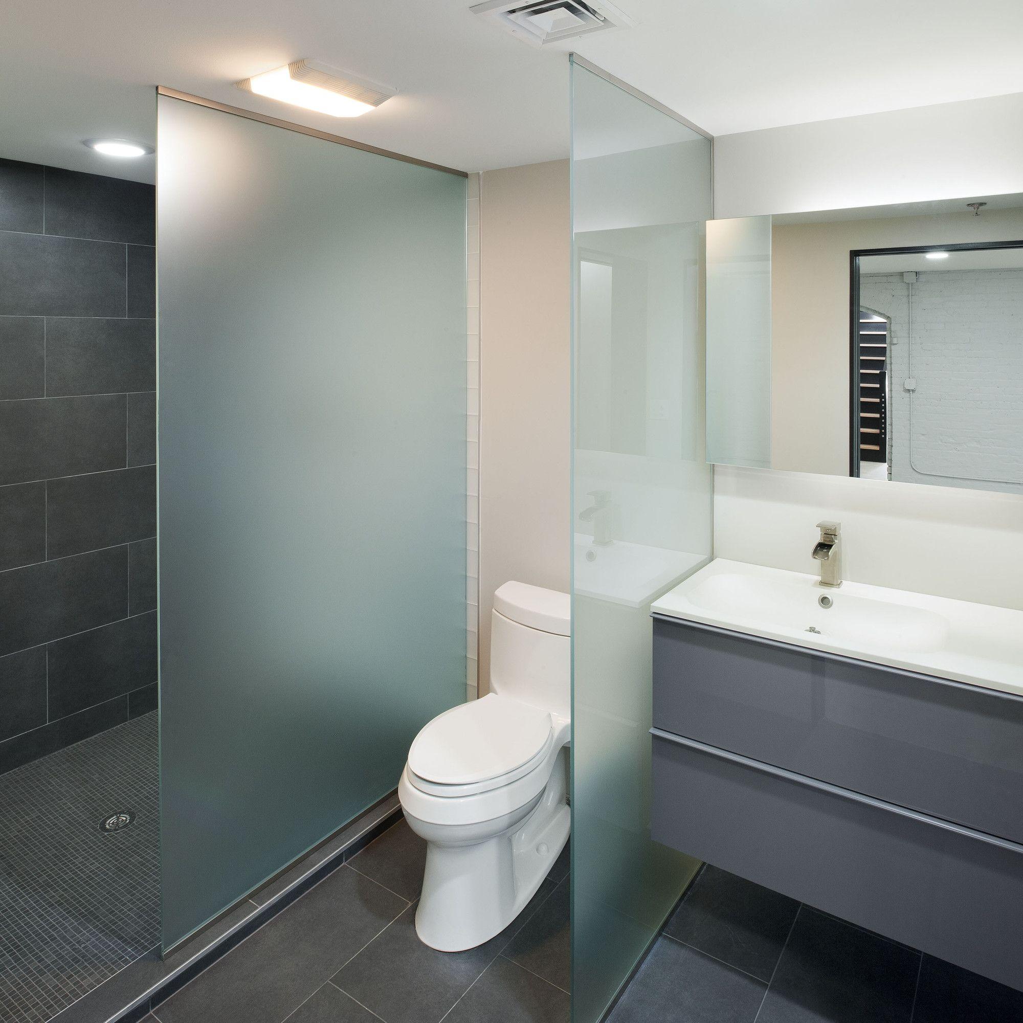 Gallery Of Delin Boiler Room Stack Co 7 Bathroom Partitions Glass Bathroom Bathroom Design