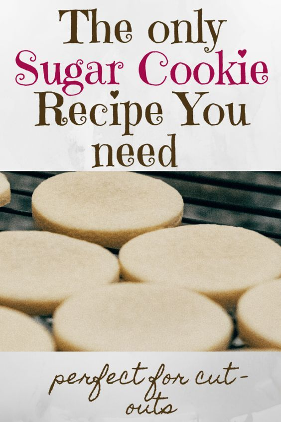 The Only Sugar Cookie Recipe You Need to Make Amazing Cut-Outs! - Neda's Nummees