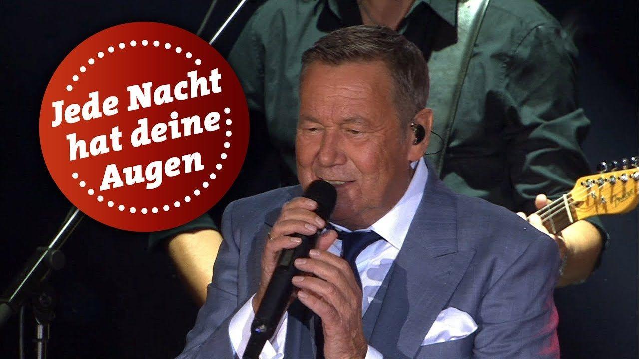 Roland Kaiser Jede Nacht Hat Deine Augen Kaisermania 2018 Mdr Kaiser Lied Musik