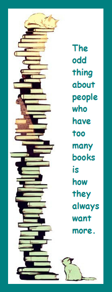 Book Marketing Observation: People Who Have Too Many Books