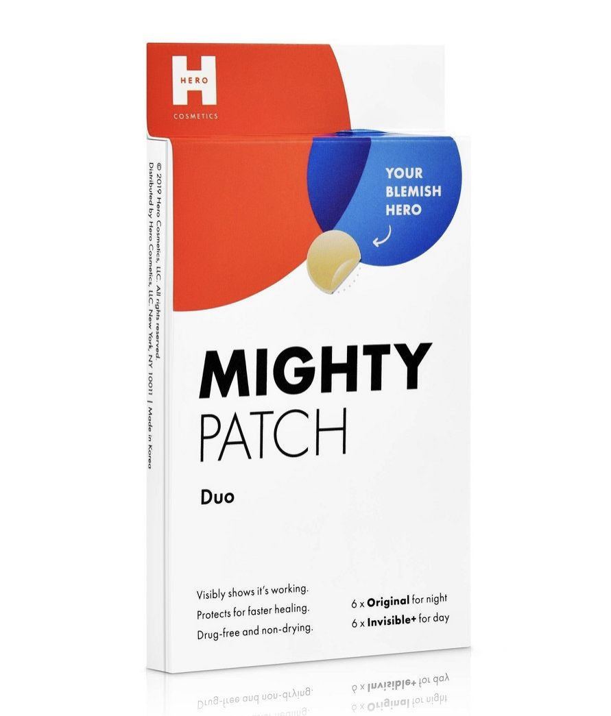 Hero Cosmetics Mighty Acne Patch Duo 12ct Paraben Free Products Patches Acne