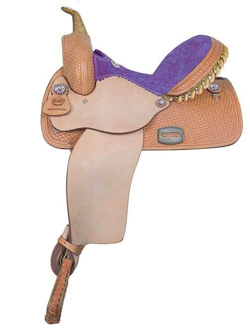 Alamo Saddlery Barrel or Pleasure Saddle 14in  1274-PP