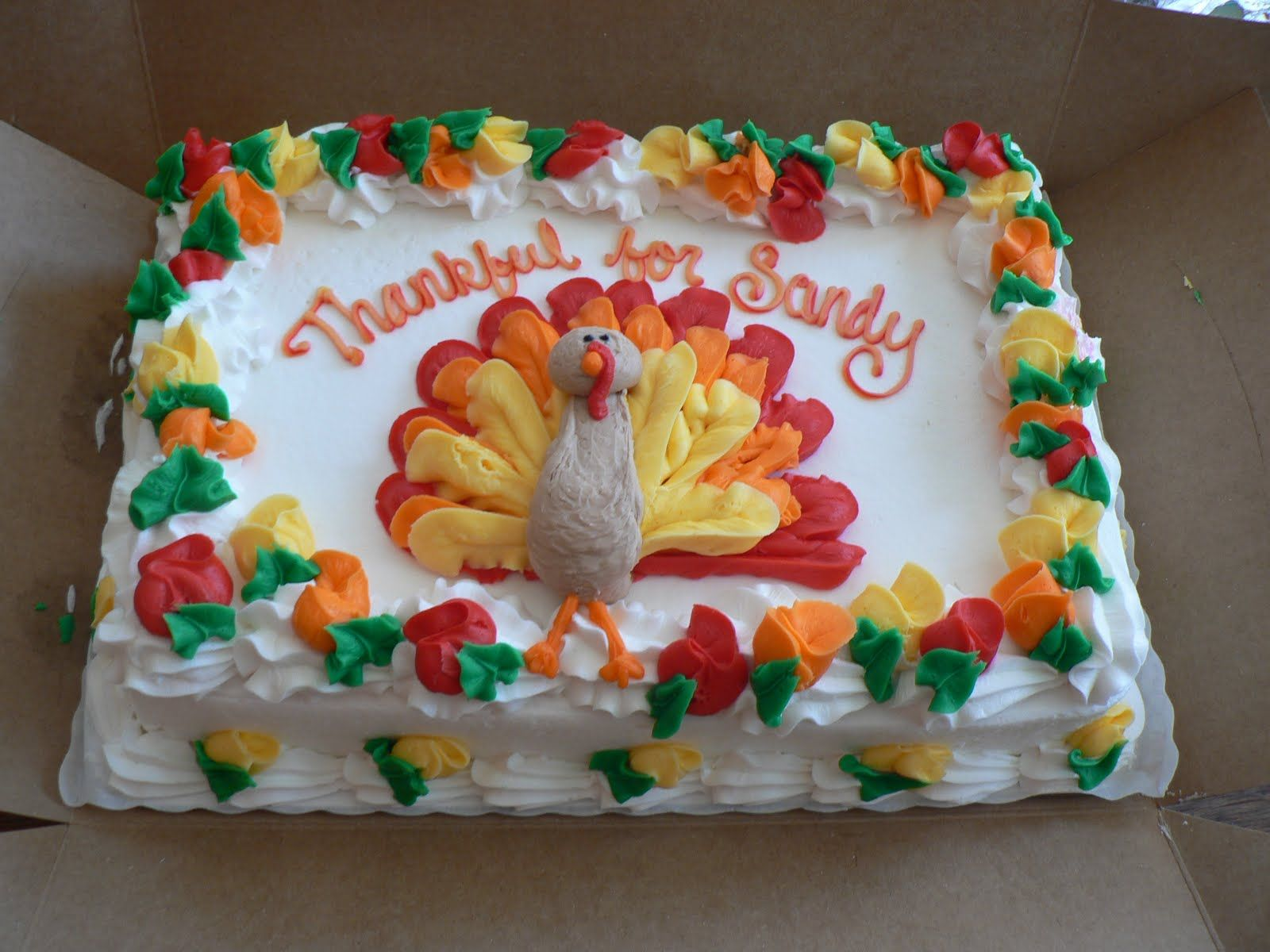 Thanksgiving Cakes \u2013 Decoration Ideas