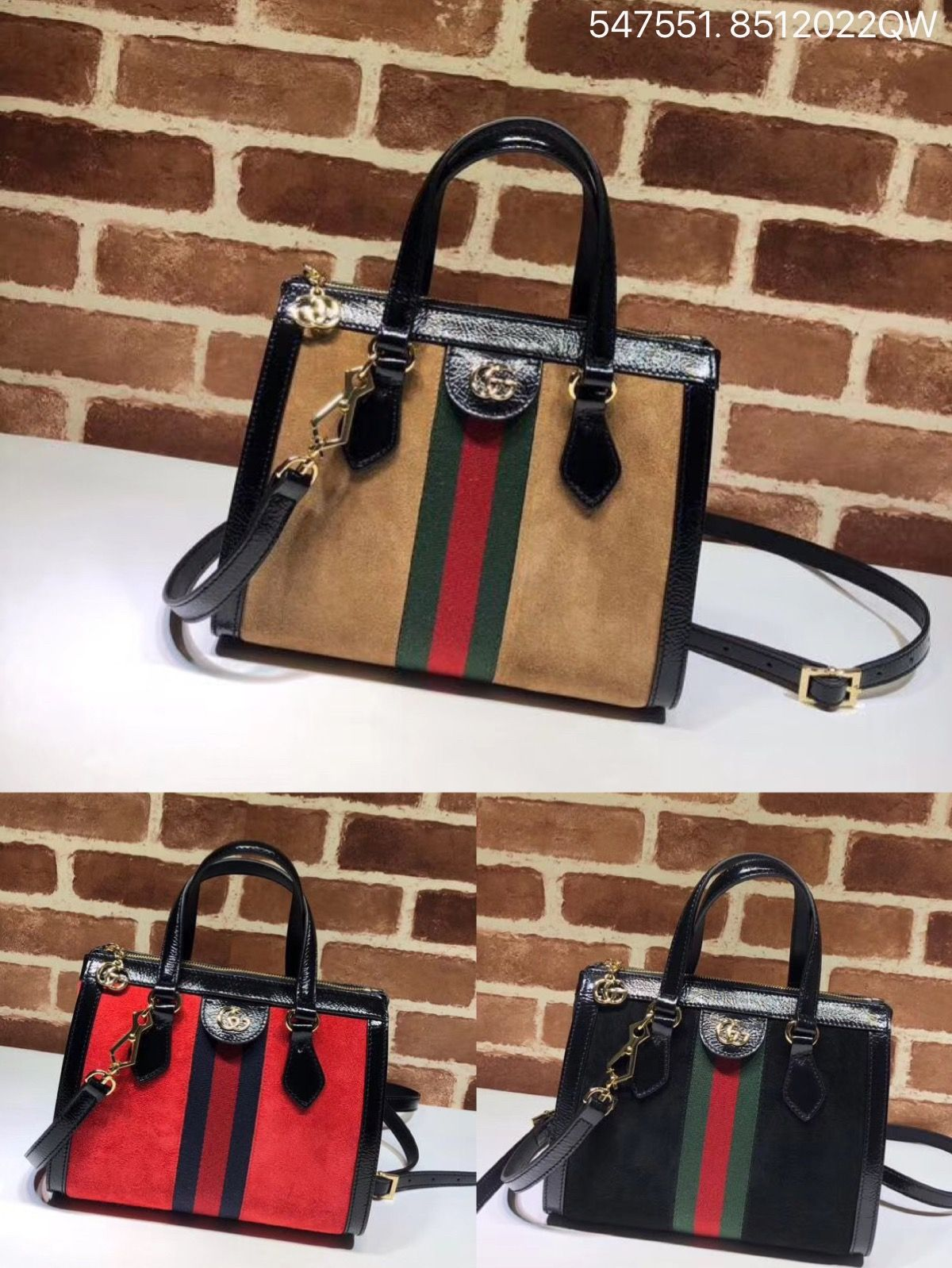 f6a4d4602139 Gucci ophidia small GG suede tote bag top handle handbag 547551 ...