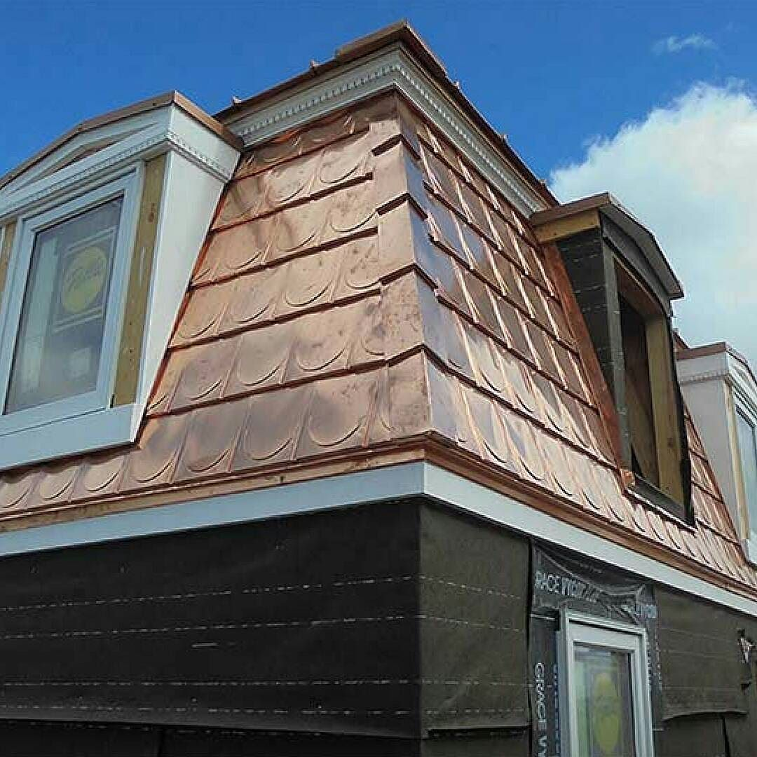 An Eye Catching Copper Roof Is Pretty Expensive Especially On A Large House But On A Tiny House It Is Definitely A Mo Copper Roof Tiny House Design Small House