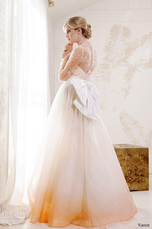 Ombre Wedding Dress 2014
