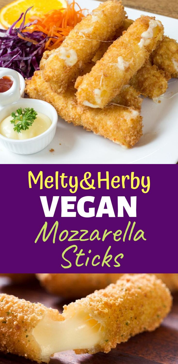 Melty Herby Vegan Mozzarella Sticks (Beyond Yummy!) – – Carey&CleanEatingS