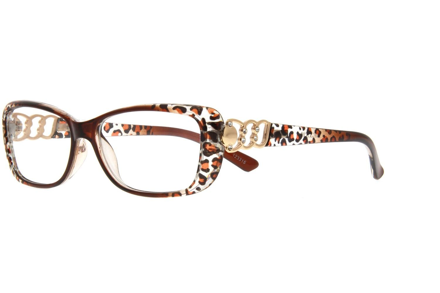 Plastic Full-rim Frame1233 | Designer eyeglasses, Brown and Models