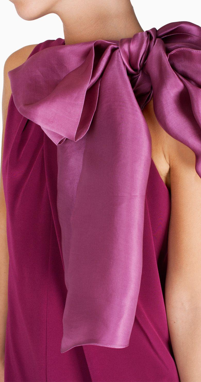 Alquiler Vestido midi cereza | The 2nd Skin Co. | 24FAB | 2761 | FAB ...