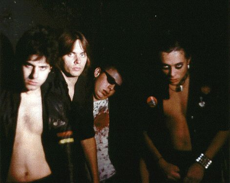 The Misfits - 1978 Glenn Danzig, Mr. Jim, Franche Coma, and Jerry Only