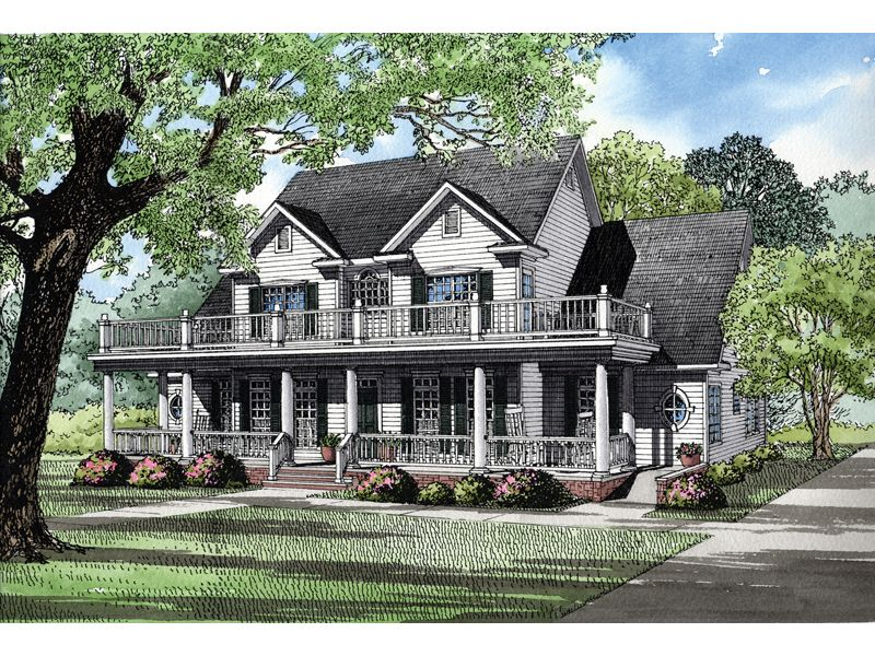 Howdershell luxury home balconies porch and luxury for 2nd story house plans