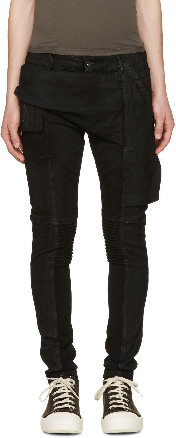 194bec9e RICK OWENS DRKSHDW Black Memphis Jeans. #rickowensdrkshdw #cloth #jeans