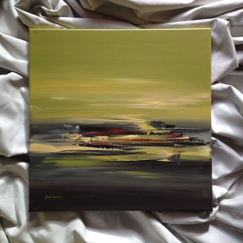 Artist Jason Nelson Signed Original Oil Landscape Painted