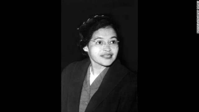 Black Poster Of Rosa Parks Anniversary Of The Birth Of Civil