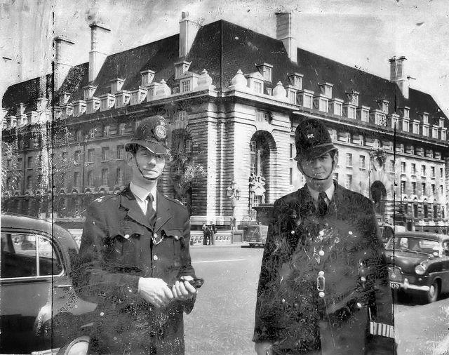 Cannon Row A Division Police Constables Westminster Bridge London Uk 1960 Westminster Bridge Police Westminster