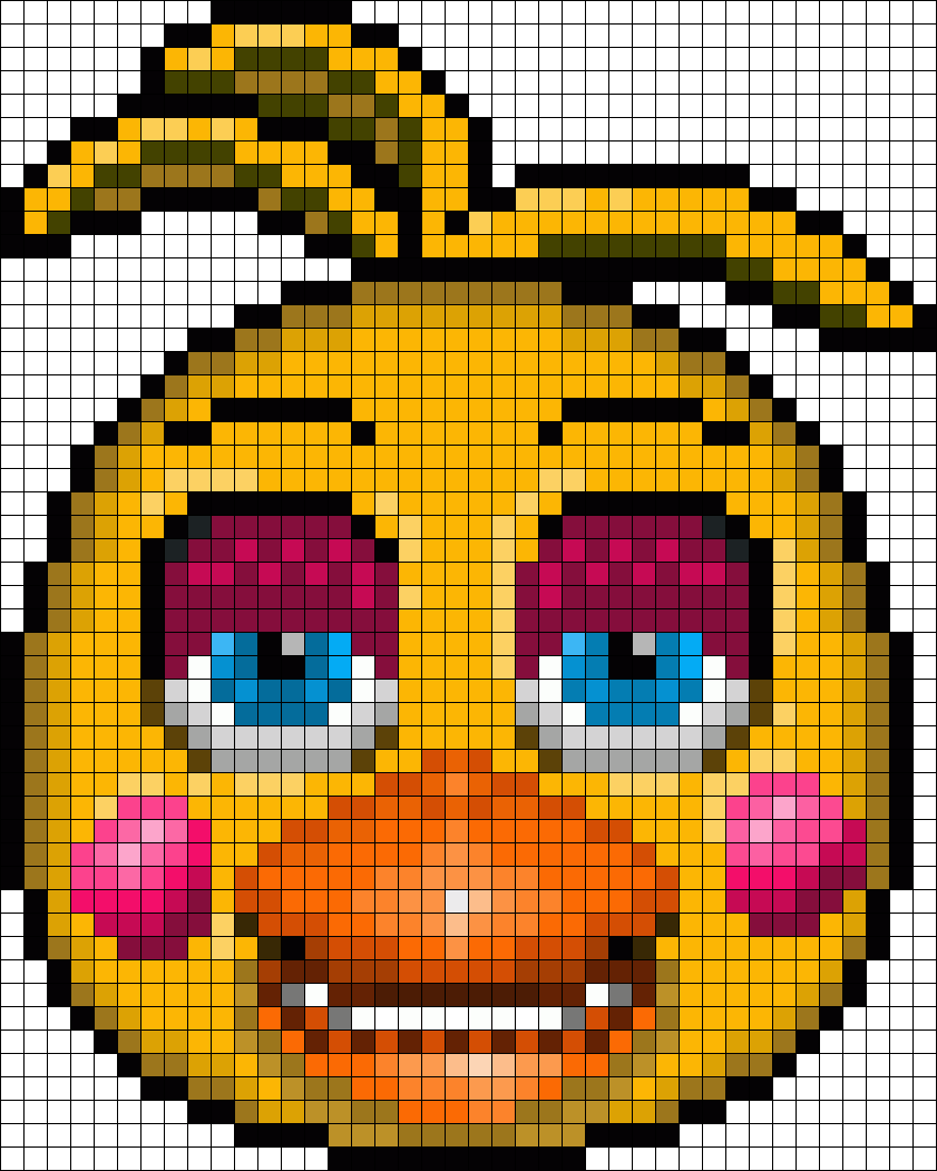 Toy Chica In Daytime Perler Bead Pattern Bead Sprite