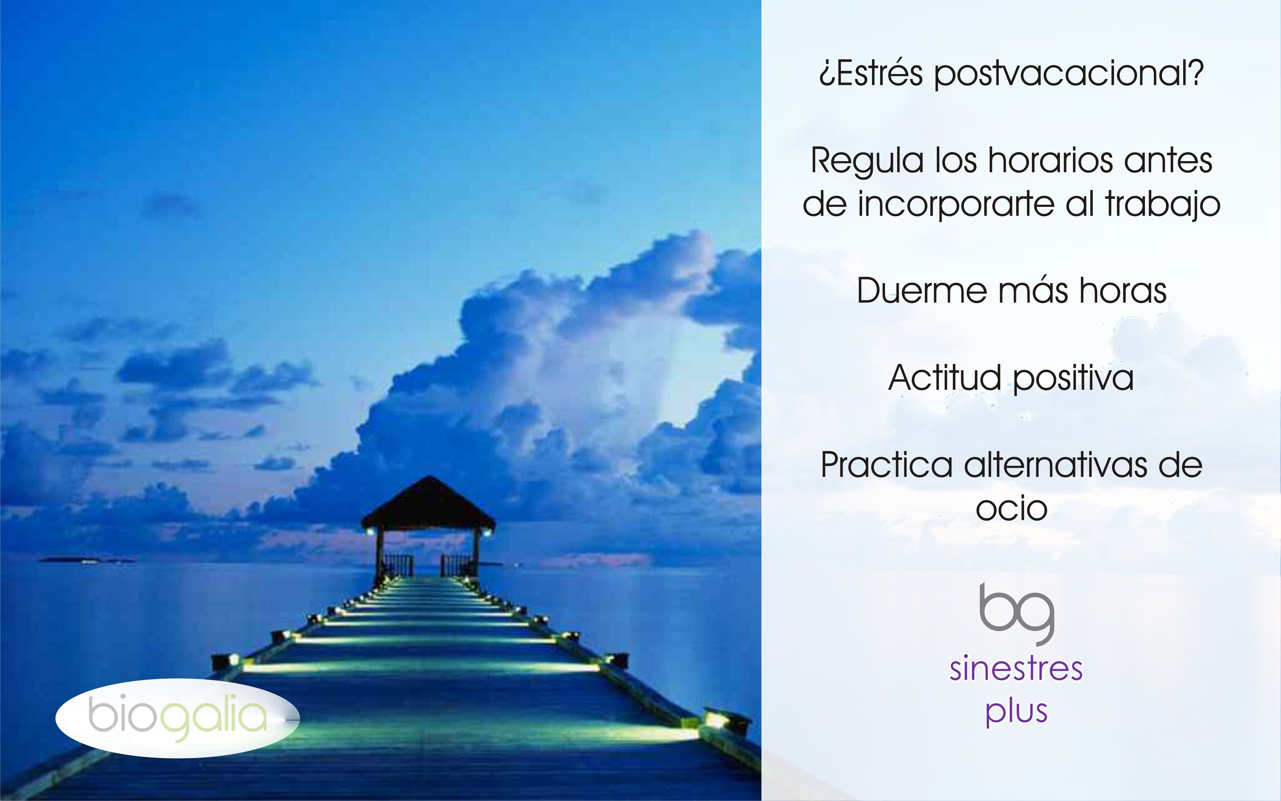 Consejos para sobrellevar el #estrés #postvacacional. http://bit.ly/1n9ITH2