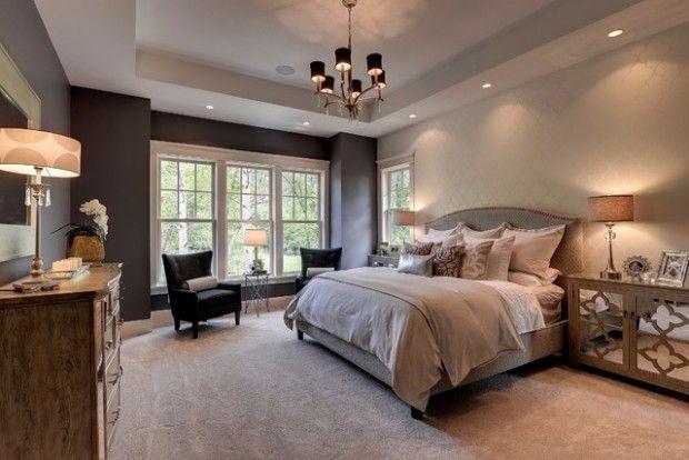 20 Master Bedroom Design Ideas in Romantic Style Master bedroom