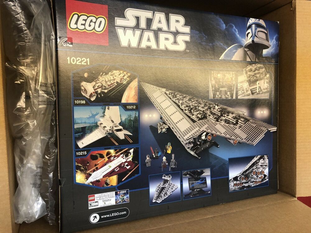 Lego 10221 Star Wars Super Star Destroyerafflink When you click