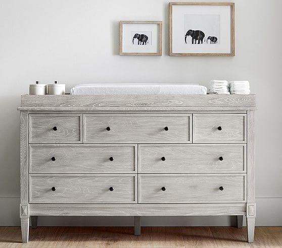 Graham Extra Wide Dresser & Topper Set