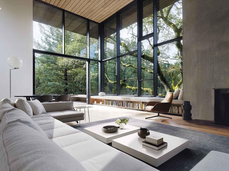 Photo of Le paysage est la vedette de cette maison d'architecte écologique – PLANETE DECO a homes world