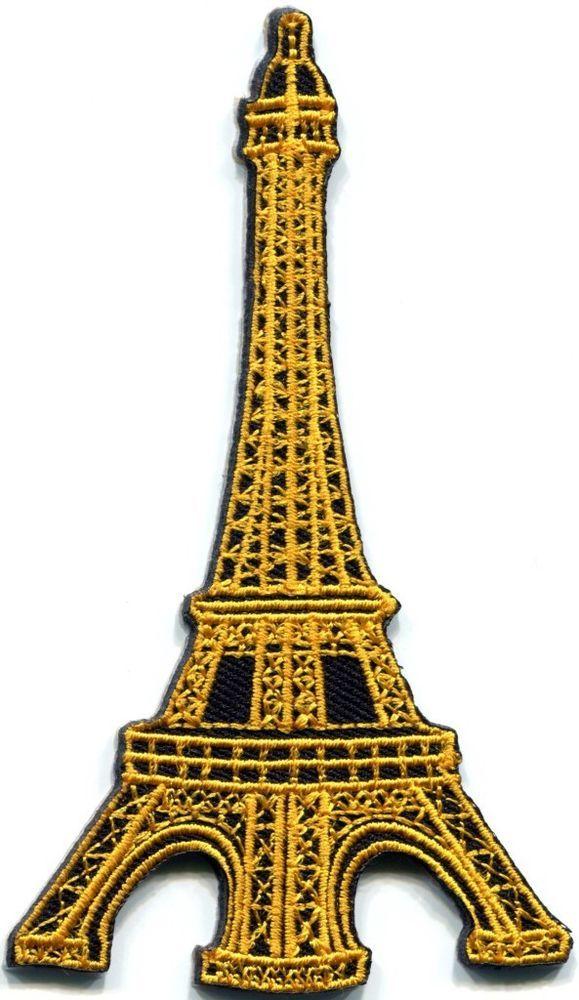 Eiffel Tower Paris France retro applique iron-on patch FREE SHIP, NO LIMIT S-322  http://www.ebay.com/itm/Eiffel-Tower-Paris-France-retro-applique-iron-on-patch-FREE-SHIP-NO-LIMIT-S-322-/230900107669?_trksid=p2054897.l5674