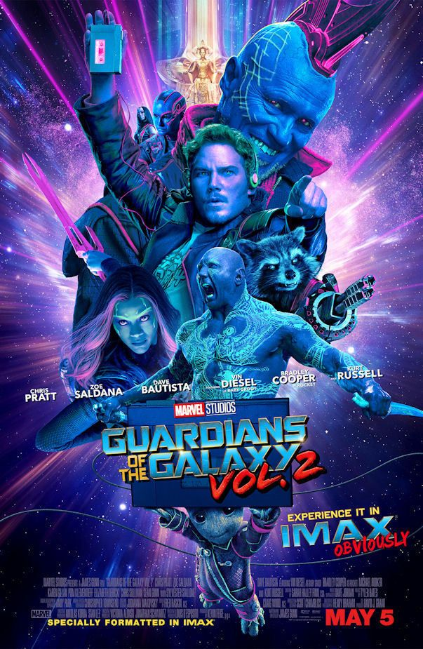 Guardians of the Galaxy vol2 11 Movie Poster Canvas Picture Art Print A0 A4