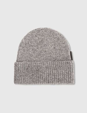 ALF MOULINE MIX BEANIE, Lt grey Mel