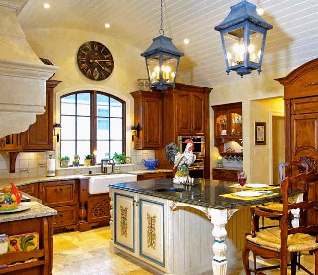 Кухня В Стиле Прованс 6 Особенностей  Httpgirltrublogspot Glamorous Country Kitchen Designs 2013 Design Decoration