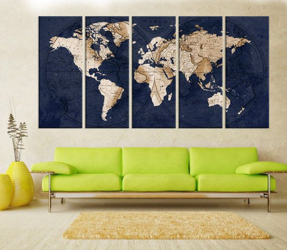 Abstract wall art old world map wall art print large world map abstract wall art old world map wall art print large world map wall art canvas fine art print living room and aoffice decor 7s74 gumiabroncs Images