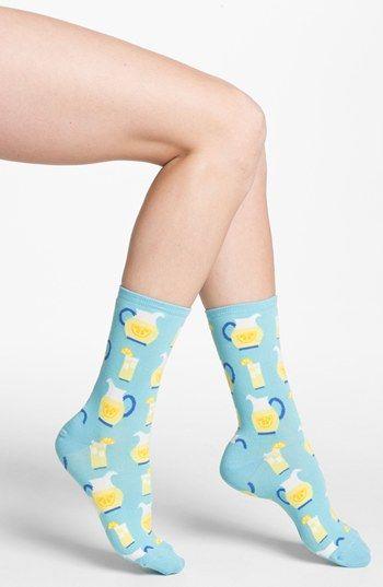Hot Sox 'Lemonade' Socks available at #Nordstrom