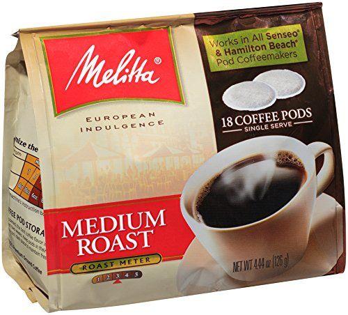 Melitta Coffee Pods For Senseo And Hamilton Beach Pod Brewers