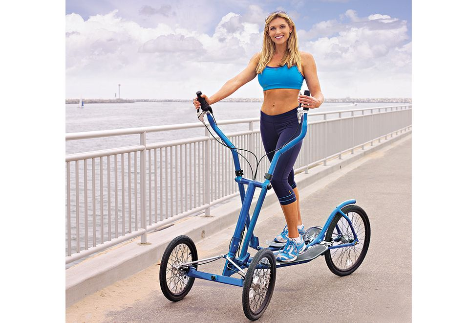 Outdoor Elliptical Cross Trainer Bike Sharper Image With Images