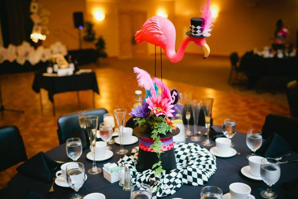 Alice tea party Wonderland Centerpiece madhatter