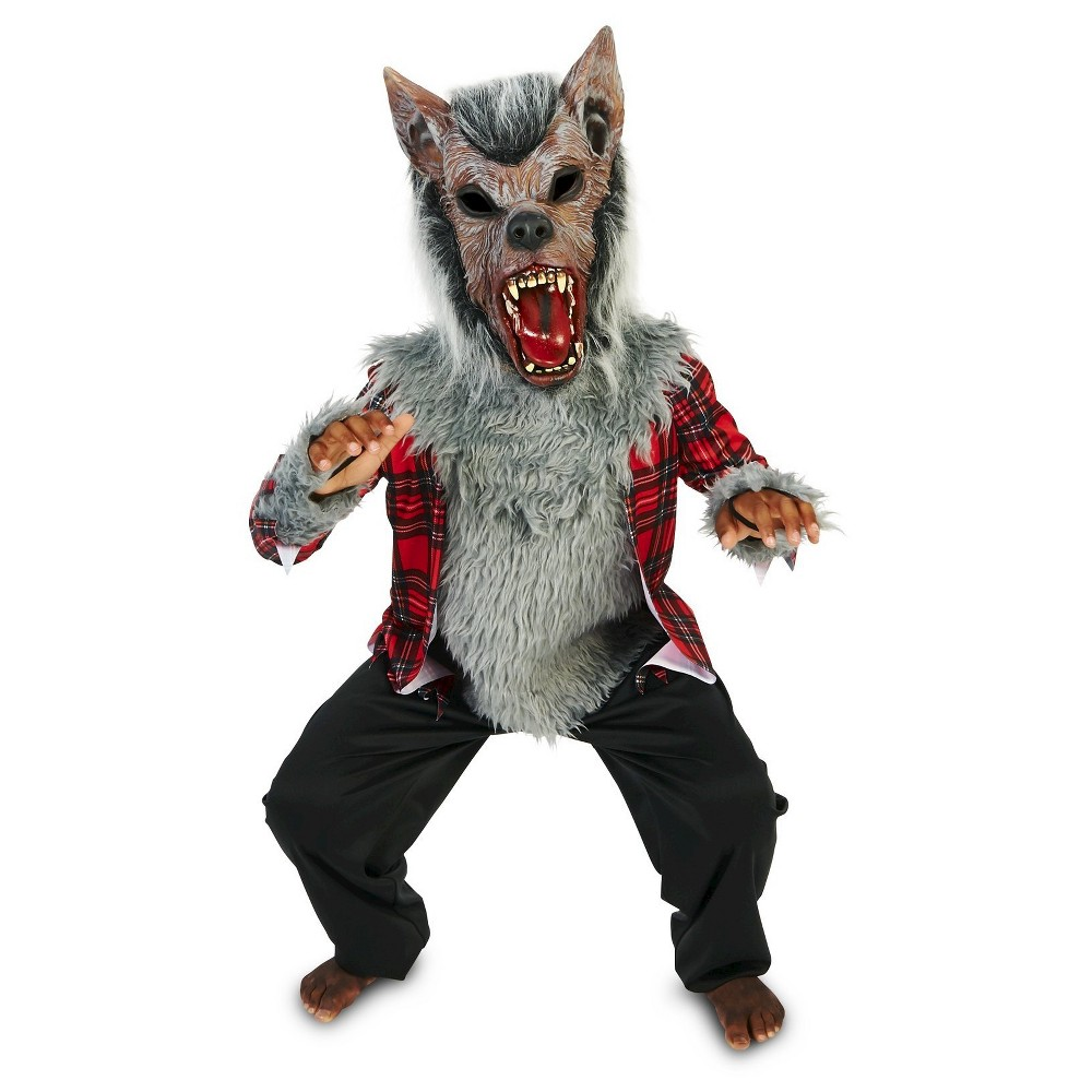 Full Moon Howl Werewolf Child's Costume XL, Boy's, Size