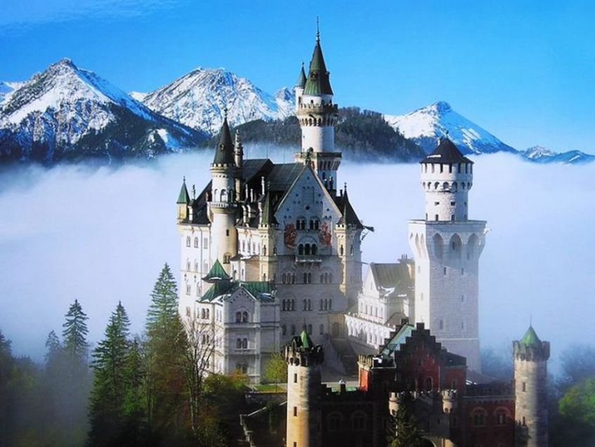 世界十大最美城堡 全球令人窒息的壮丽美景