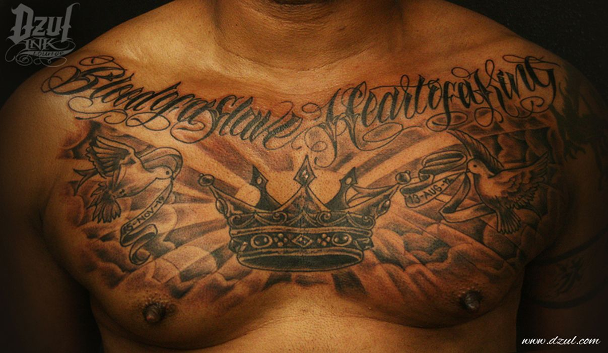 Cloud Chest Piece Tattoo Designs: Chest Tattoo Men Image By Alex P Lackey ♕ On Make Your