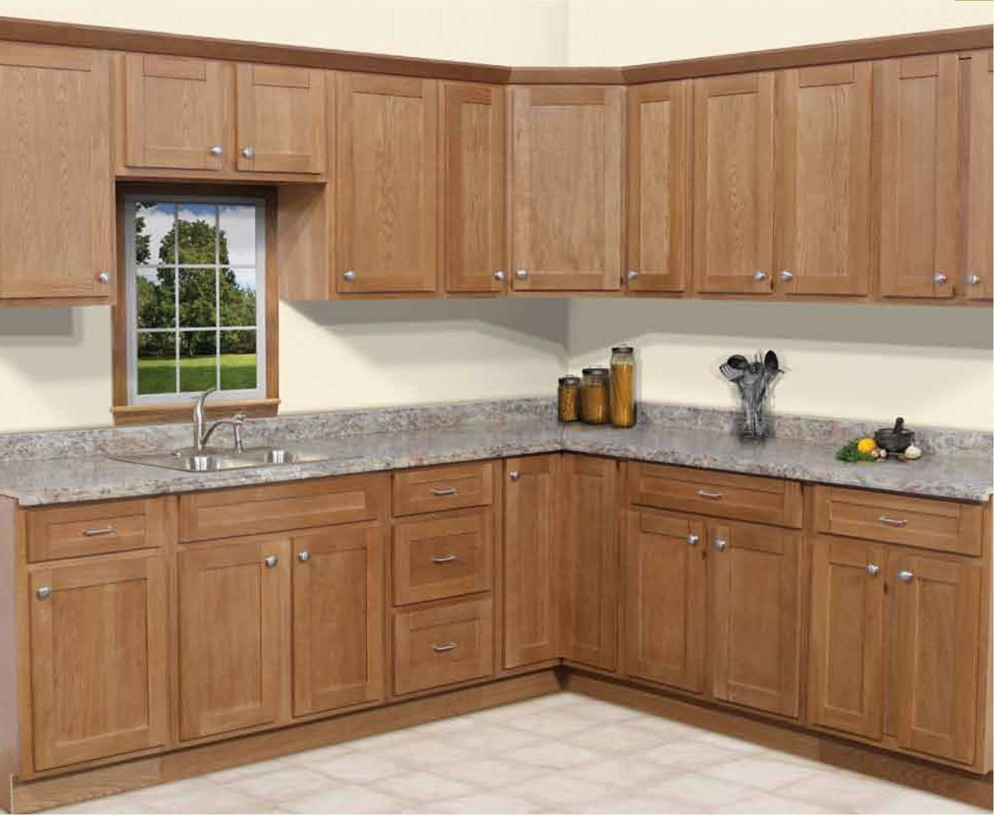 Fein Gebäude Shaker Stil Küchenschranktüren Zeitgenössisch - Ideen ...