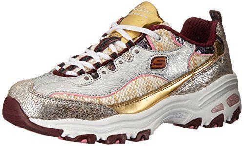 Metallic sneakers, Sketchers shoes