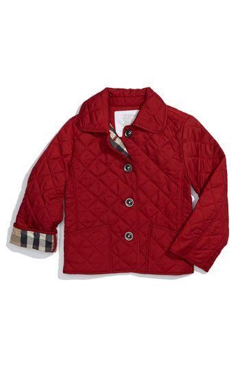 Burberry Quilted Jacket Toddler Available At Nordstrom Quilted Jacket Burberry Quilted Jacket Jackets