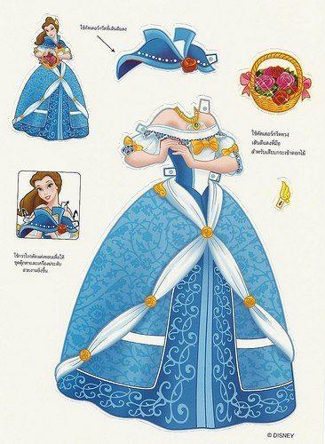 Бумажные куклы - принцессы | Бумажные куклы, Винтажные ...