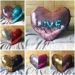Discount Love Shaped Pillows 2017 New Pillow Cases Love Shape