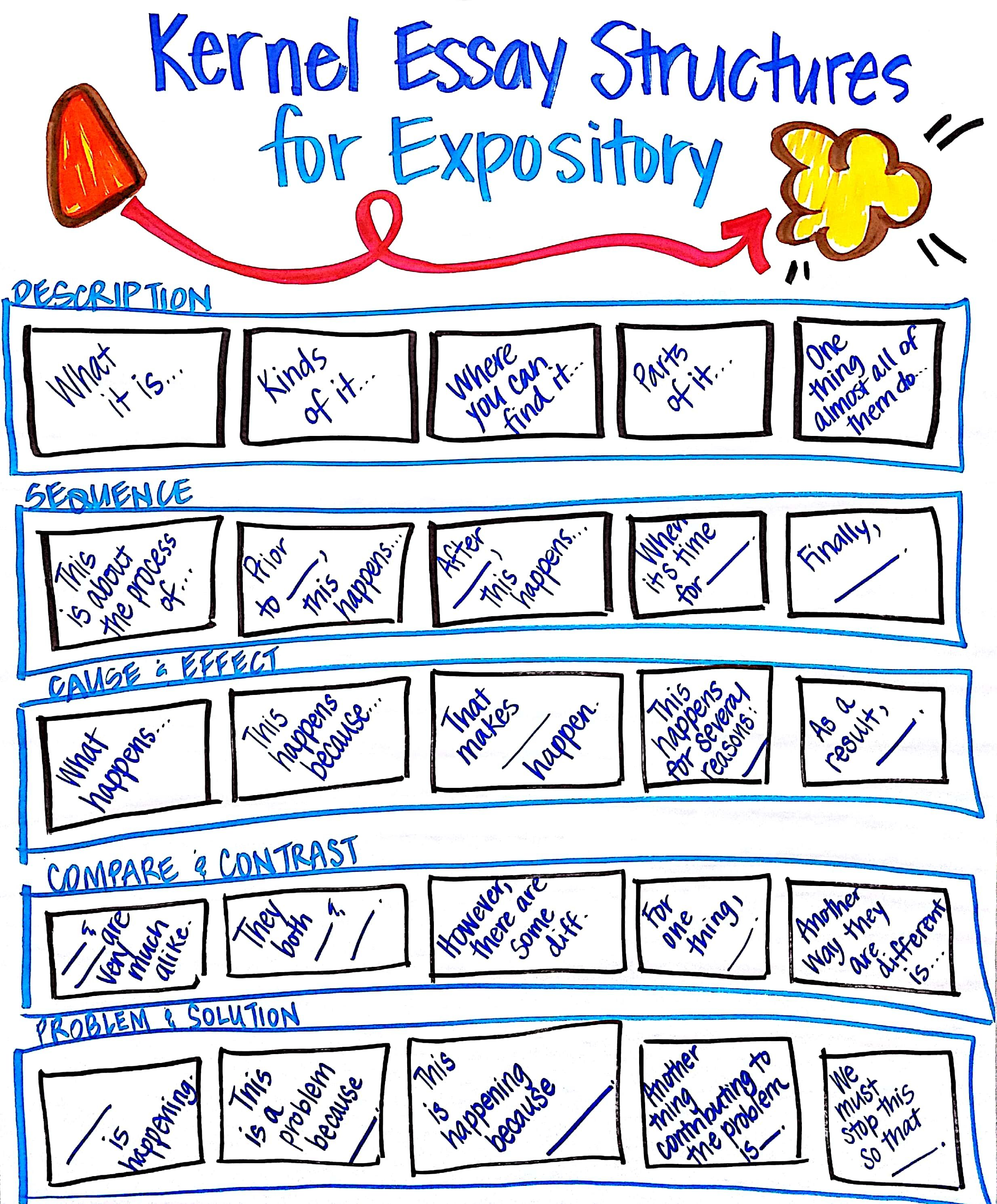 Pin By Tracy Smith On Writing In 2021 Expository Anchor Chart Curriculum Type Essay Structures Structure